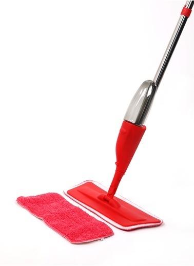 MARKAPIA HOME Sprey Mop ve Yedek Mikrofiber Kırmızı